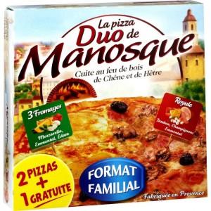 Пицца из Маноска